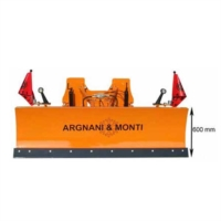 HYDRAULIC SNOWPLOUGH RUNNER WITH SPRINGS FOR 50 HP TRACTORS