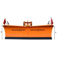 HYDRAULIC SNOWPLOUGH WITH SPRINGS